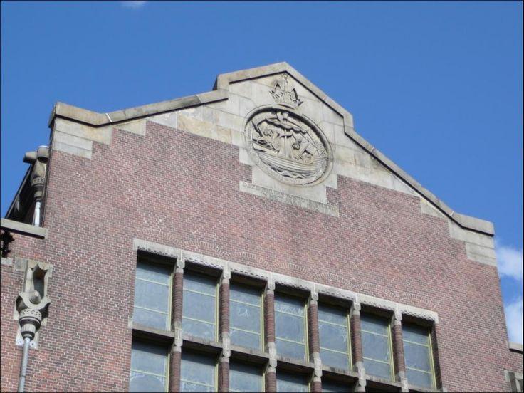 1071 - 12.08.2008 - Amsterdam - Hendrik Petrus Berlage, la Borsa di Amsterdam, 1895 (NL)