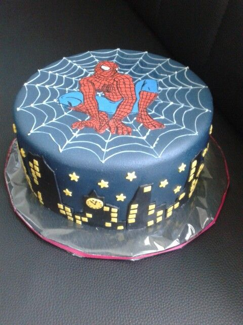 Spiderman Torte Sarah In 2019 Birthday Cake Cake Und