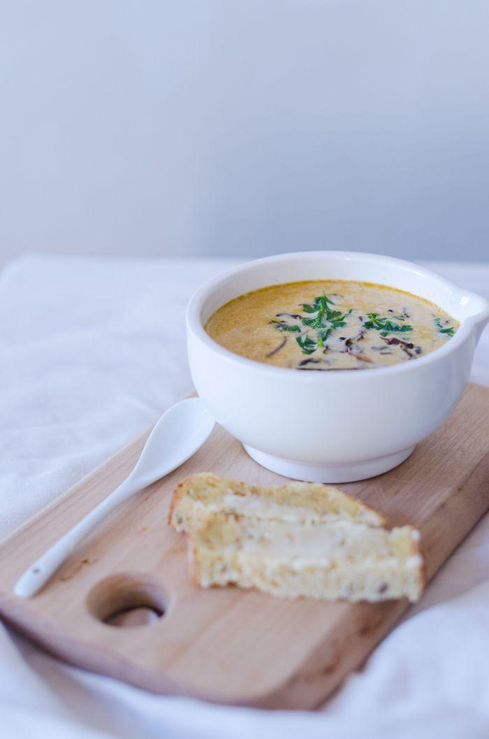 Recept: Soppa på torkade trattisar