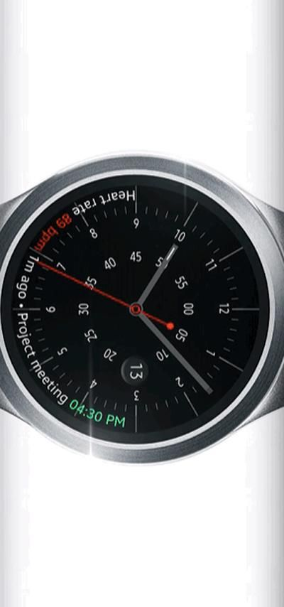 Here's a sneak peek at the Samsung Gear S2 smartwatch