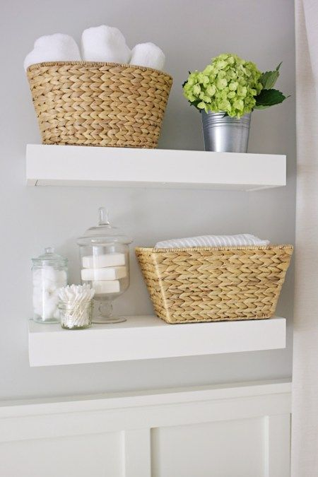 Small Bathroom Storage Shelves best 20+ floating shelves bathroom ideas on pinterest | bathroom