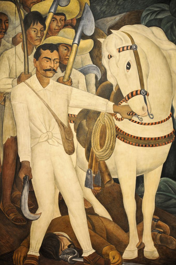Diego Rivera - Agrarian Leader Zapata, 1931