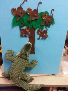 Monkey Storytime by Storytime Hooligans- books, rhymes and a felt board - good for Chinese New Year of the Monkey 2016.