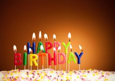 Happy Birthday Candles - Download From Over 46 Million High Quality Stock Photos, Images, Vectors. Sign up for FREE today. Image: 675770