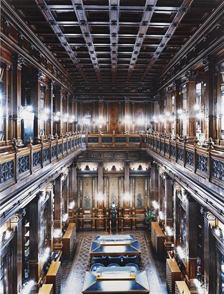 Palacio del Congreso Nacional de Buenos Aires by Candida Höfer.