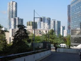 Promenade urbaine à la Cité Pablo Picasso de Nanterre  CAUE de Paris - septembre 2014