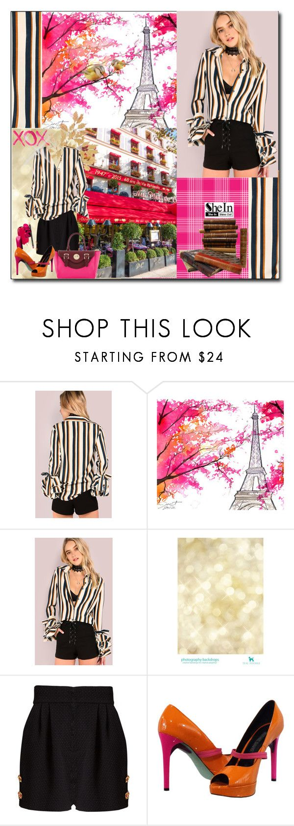 """Romance in Paris"" by white-moonlight ❤ liked on Polyvore featuring Dolce&Gabbana, GALA and Ruthie Davis"