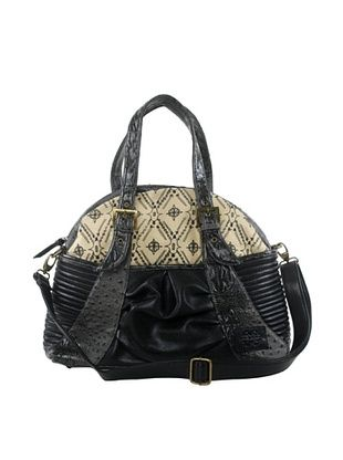 50% OFF amykathryn Gladiola Shoulder Bag, Black Print