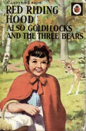 RED RIDING HOOD GOLDILOCKS & THE THREE BEARS Vintage Ladybird Book Series 413 Matt 1978