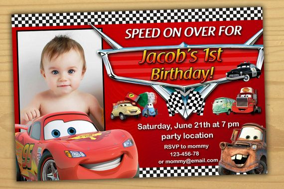 Thank You For Coming To My Shop Disney Cars Thank You Card Here Https Www Etsy Com Listing Cars Birthday Invitations Cars Invitation Cars Birthday Parties