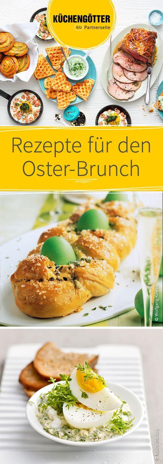 Wir verraten euch unsere besten Rezepte für den Osterbrunch.