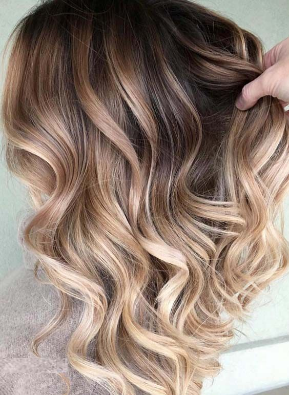 36 Best of Balayage Ombre Curls for Women in 2018