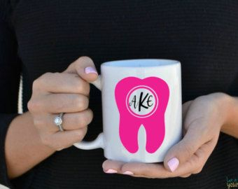 Diente taza taza de la Facultad de Odontología por LetItBeYoursCo