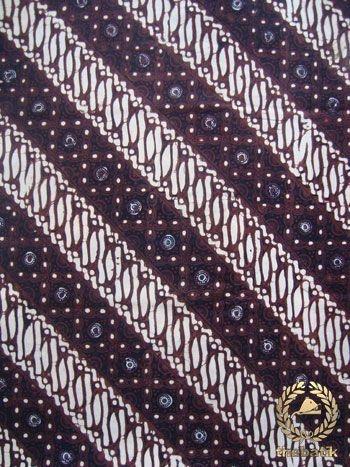 Kain #Batik Cap Jogja - Parang Klithik Grompol