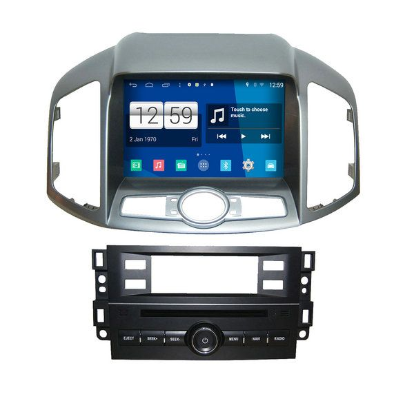 S160 Android4.4.4 CAR DVD player FOR CHEVROLET NEW CAPTIVA 2012-2013 car audio stereo Multimedia GPS Head unit