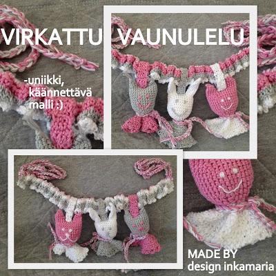 Crocheted BabyToy by design inkamaria