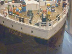 playmobil  en titanic .