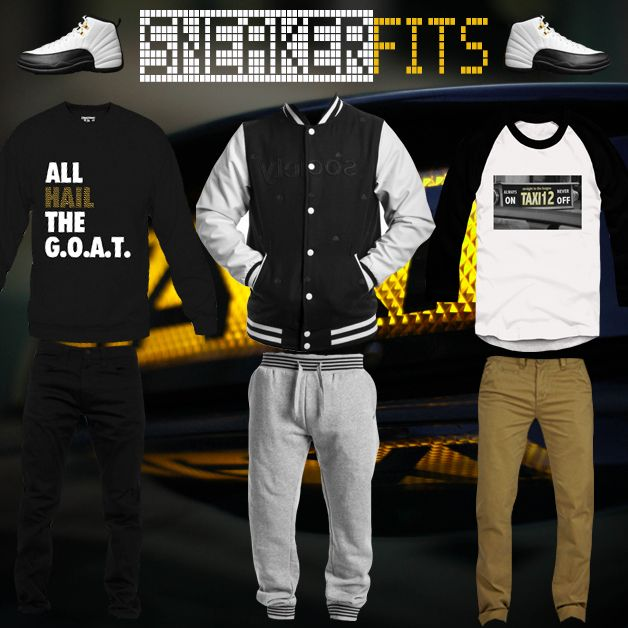 "What To Wear With The Air Jordan 12 ""Taxi"" - SneakerFits"