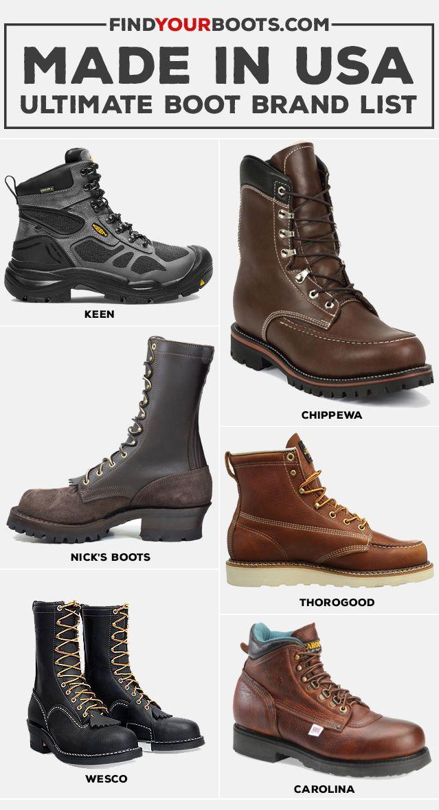 Work boots men, Boots outfit men
