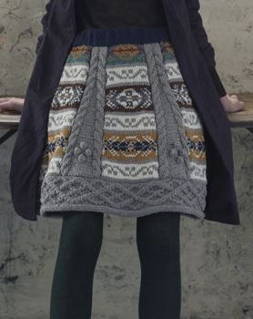 artistic inspiration for refashioning old sweaters, nordic, bum warmer, funky, free style fashion, hippie