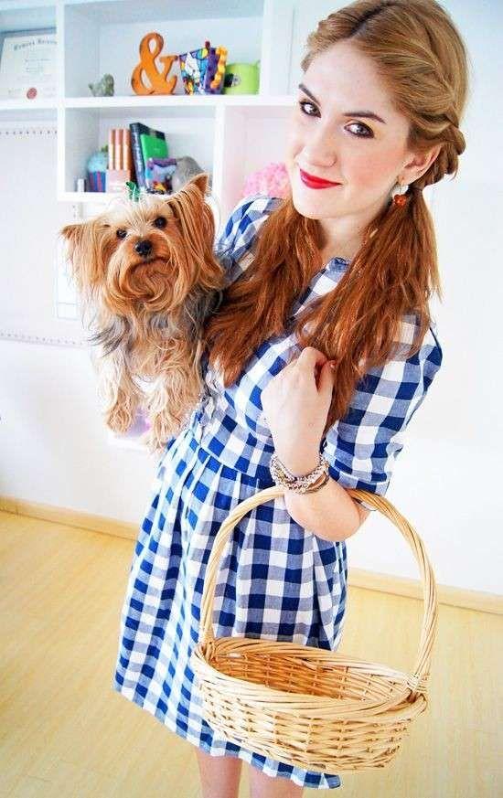 Vestiti di Carnevale da ragazza fai da te - Vestito fai da te da Dorothy