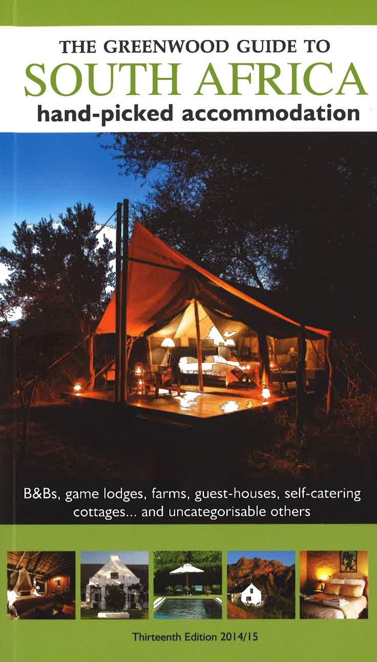 The Greenwood Guide to South Africa. #travel #south #africa #travelling #accomodation #adventure #lodge #food #culture
