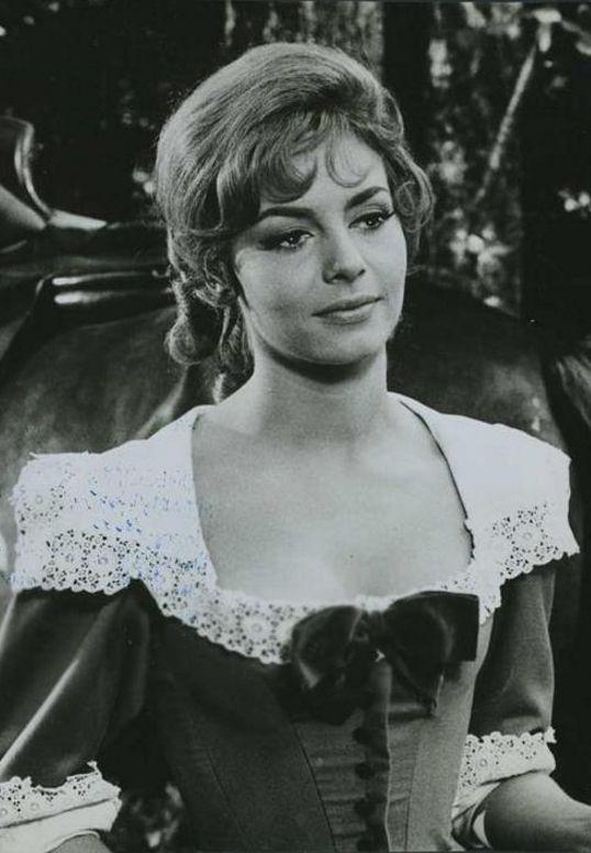Vintage photo of Michele Mercier