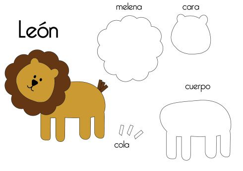felt_animal_templates-Lion