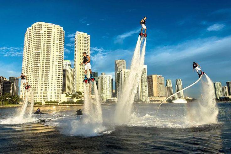Terapung di udara dan terbang dengan Flyboard! Jelajah