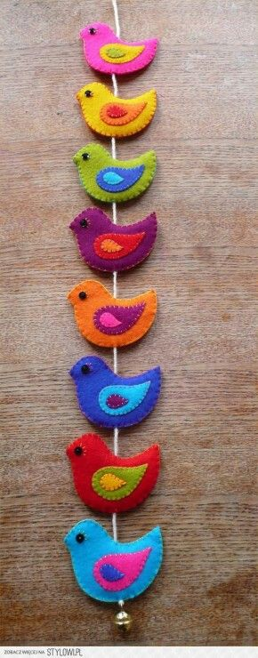 Birds on a string