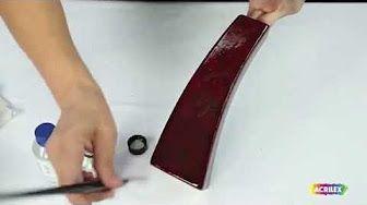 tecnica de pintura com goma laca chinesa - YouTube