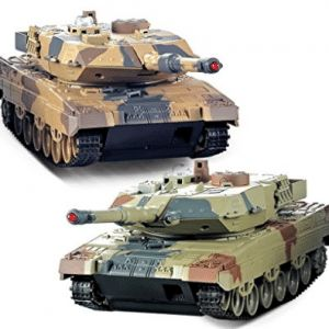 RC Tank 2 pack, TOWERPRO 2 Set Remote Control 2.4G  - Best RC Tanks