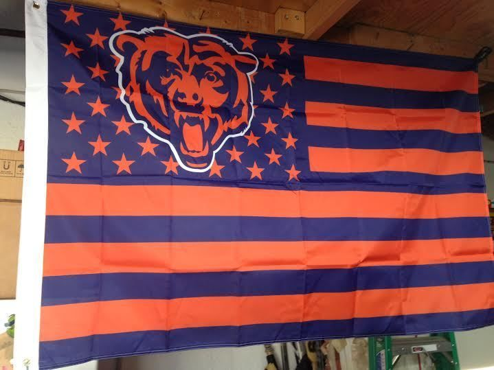 #Chicago #Bears Flag Usa 3x5 #NFL Da Ditka Cutler Payton Super Bowl Suffle #Football from $19.88