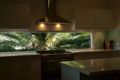window splashback - I'd like to use this as a window shape.