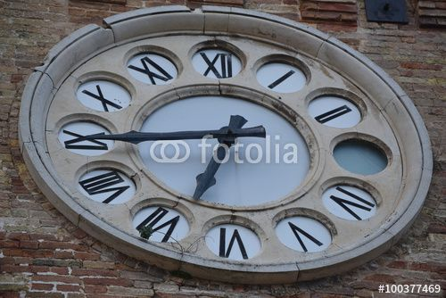 Clock Tower, Acquaviva Picena, Italy