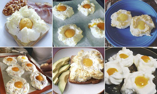 Food fiends prepare for a cloud egg takeover. The latest trend set to sweep your social media resembles a fluffy white cloud with a delicious yolk centre.