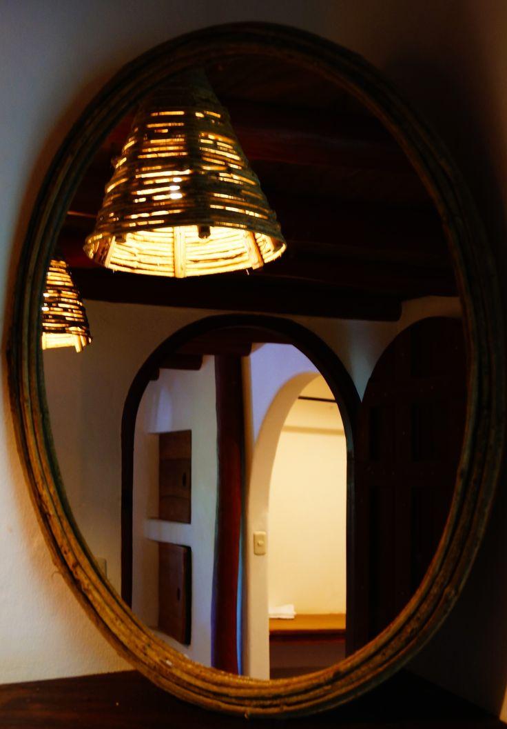 Adjustable bathroom mirrors.