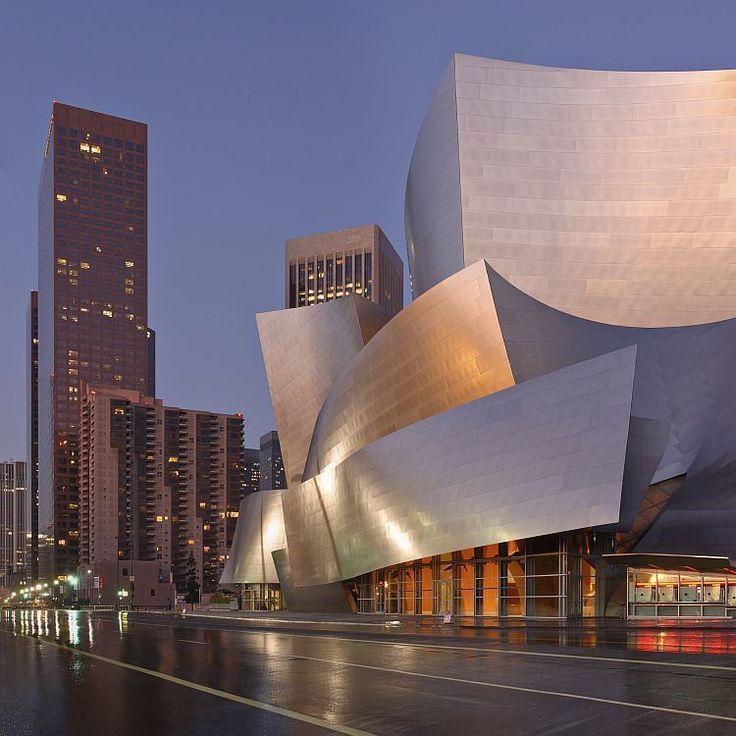 Arte Design In Los Angeles Images: Walt Disney Concert Hall, Los Angeles