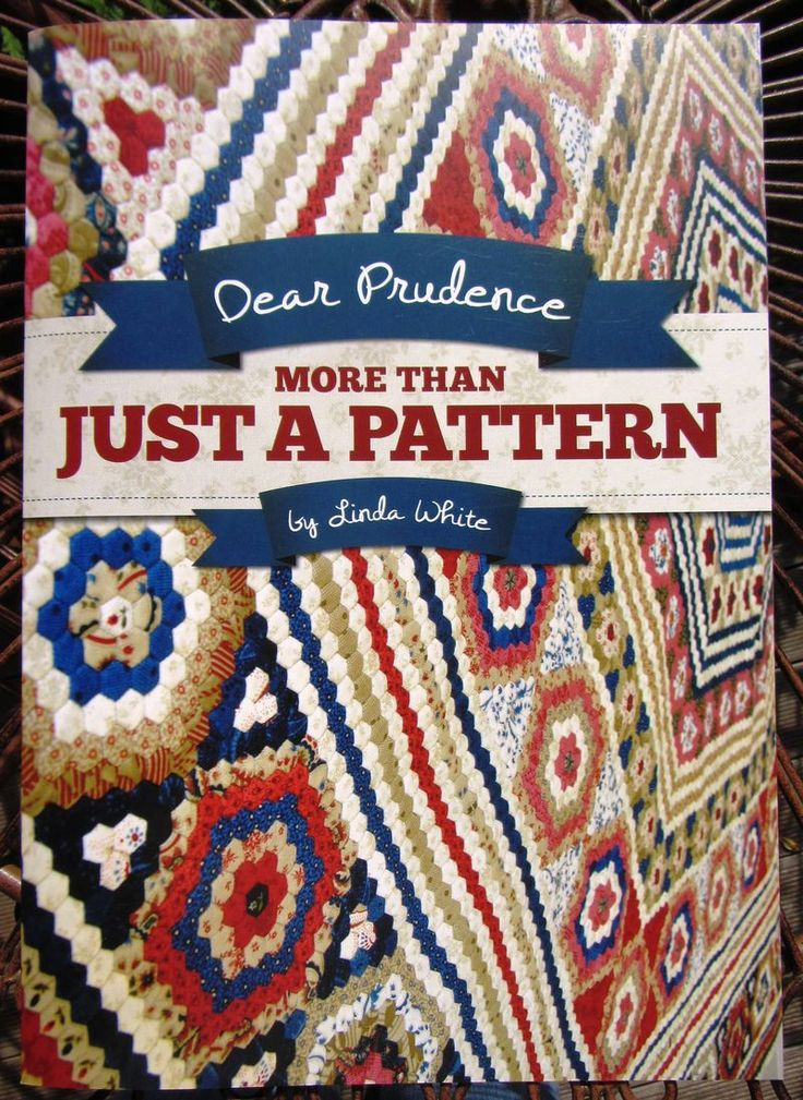 Dear Prudence More Than Just A Pattern By Linda White