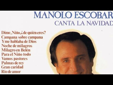 Manolo Escobar - Canta la Navidad - YouTube
