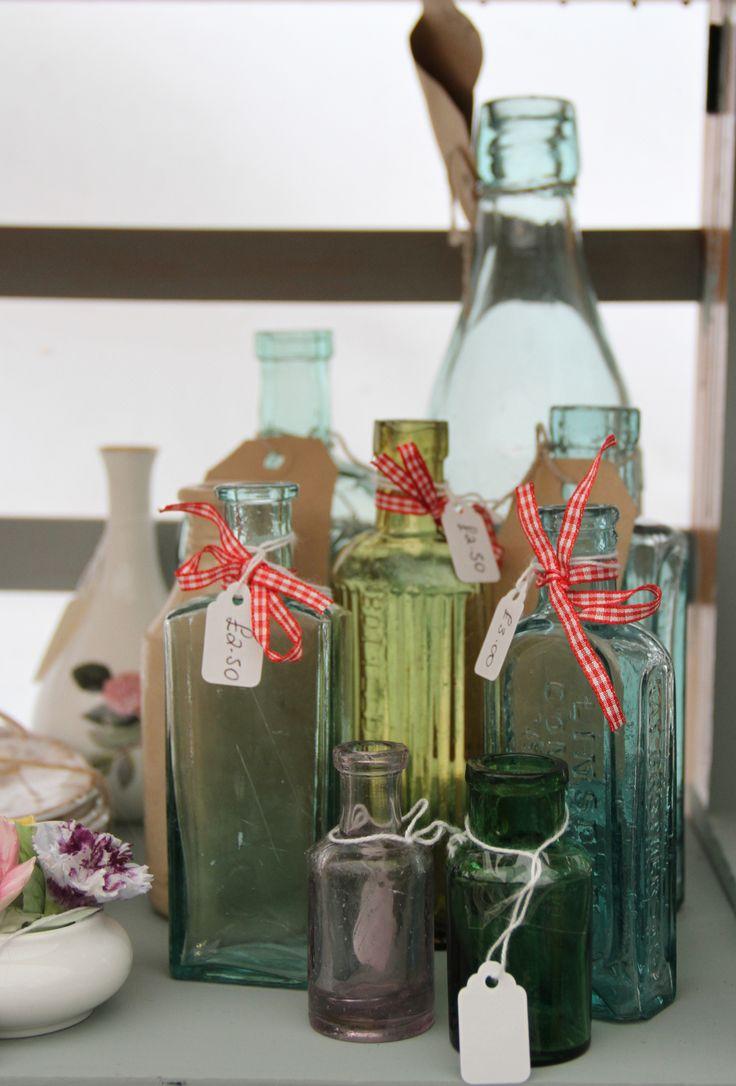 Vintage offerings from the 'Hay Does Vintage' fayre. Hay-on-Wye