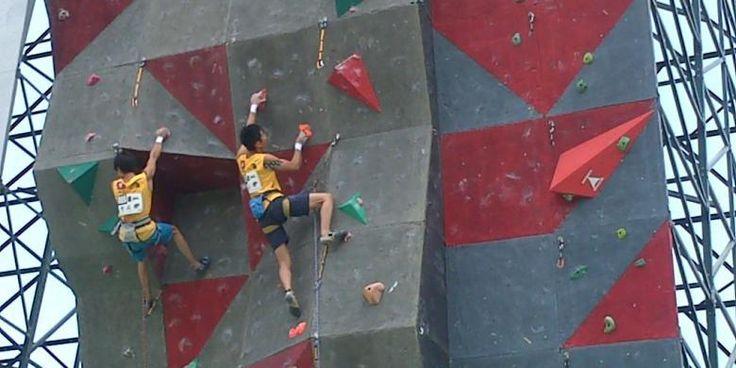 Panjat Tebing Kejuaraan Asia di Lombok