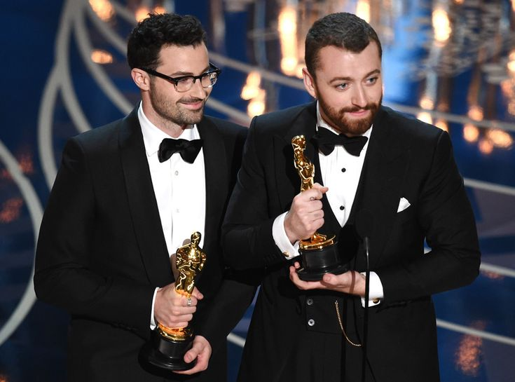 Jimmy Napes & Sam Smith from Oscars 2016: Winners  Best Original Song
