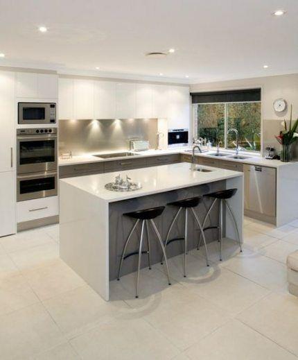 Island Kitchen Bench Designs: Super Kitchen Ideas Modern Island Benches 54 Ideas