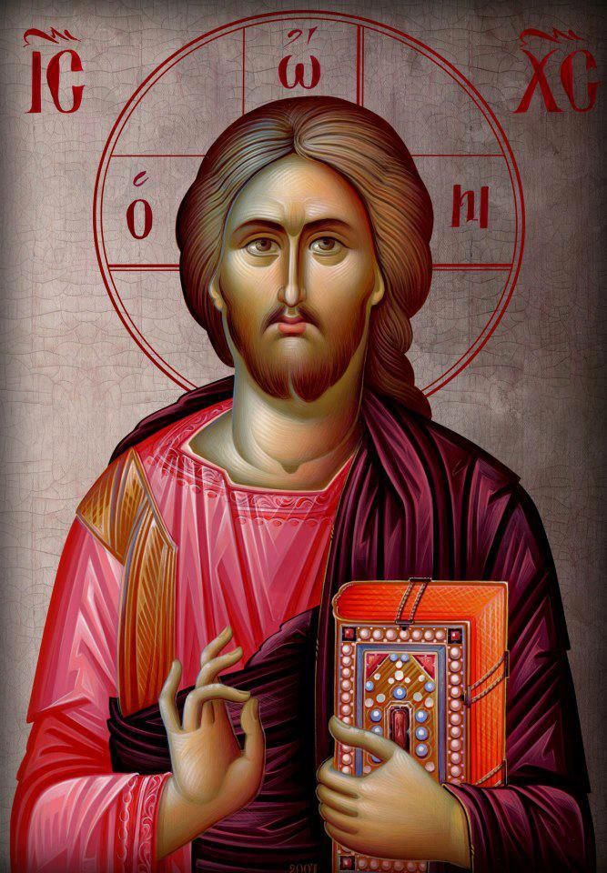 'Jesus is the Christ, one of the Holy Trinity. You are destined to be His heir.' St. Thalassios the Libyan