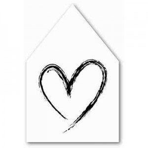 JOTS Houten Huisje XL - Heart