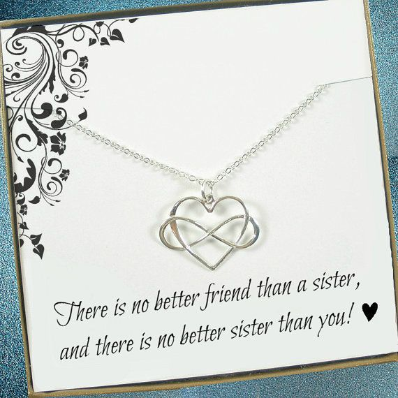 Hey, I found this really awesome Etsy listing at https://www.etsy.com/listing/254336696/infinity-heart-sister-gift-sister