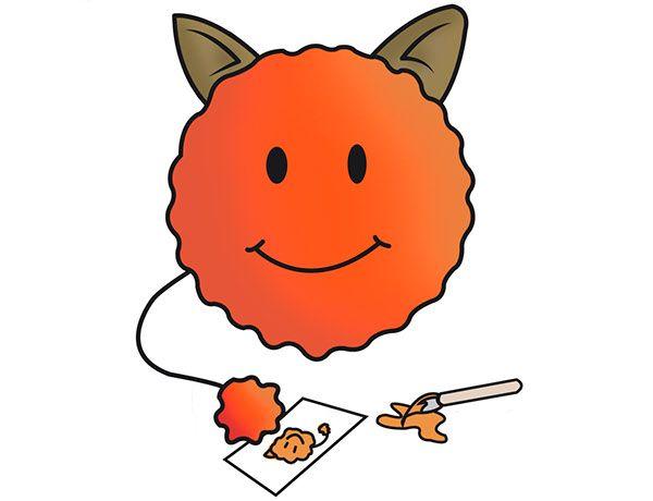 #DiseñoPersonaje Proyecto: Ago-go juego interactivo para niños. Personaje: ARTY. Descripción: El ago-go creativo. Le gusta dibujar, pintar y hacer muñecos con plastilina By: Sandra Trujillo