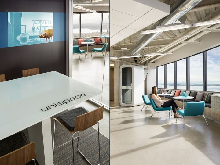 Unispace office, Seattle – Washington » Retail Design Blog