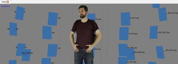 Billede opfange Full Body Scanner i farve